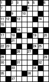 Кроссворд на украинском языке (9 на 15 клеток) №22