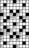 Кроссворд на украинском языке (9 на 15 клеток) №23